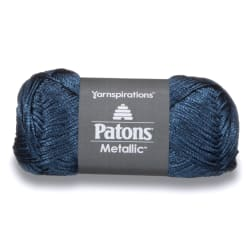 Patons Metallic Yarn (95134) Blue Steel