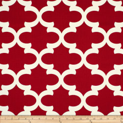 Premier Prints Fynn Timberwolf Red Fabric
