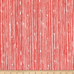 Premier Prints Scribble Coral Fabric