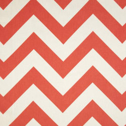 Premier Prints Zippy Chevron Coral