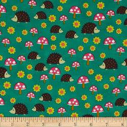 Michael Miller Norwegian Woods Too Hedgehoglets Fabric