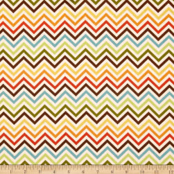 Remix Zig Zag Chocolate/Ivory Fabric