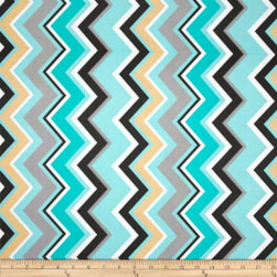 Michael Miller Chevy Chevron Boy Fabric