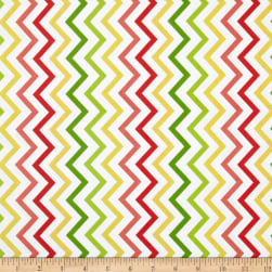 Michael Miller Mini Chic Chevron Citrus