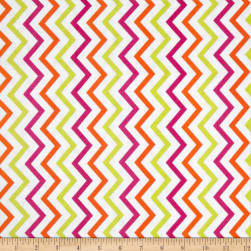 Michael Miller Mini Chic Chevron Sherbet Fabric