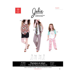 Jalie Pull-On Pants and Shorts Pattern