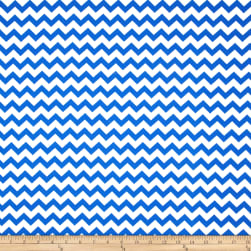 Chevron Royal Fabric