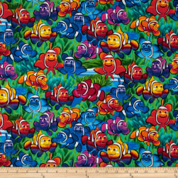 Timeless Treasures Clown Fish Multi Fabric