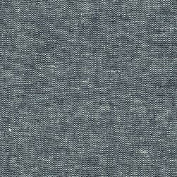 Kaufman Essex Linen Blend Yarn Dyed Indigo Fabric