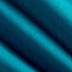 Kaufman Brussels Washer Linen Blend Ocean Fabric