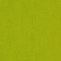 Kaufman Brussels Washer 6 oz. Linen Blend Pear