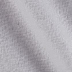 Kaufman Brussels Washer Linen Blend Silver Fabric