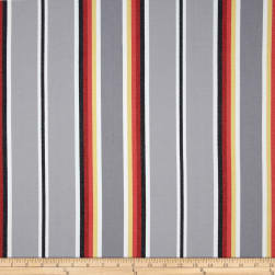 Kaufman Serape Stripes Deluxe Cotton Grey Fabric