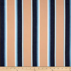 Kaufman Serape Stripes Deluxe Cotton Beige Fabric