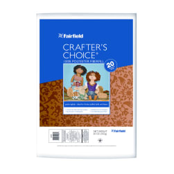 Fairfield Crafter's Choice Dry Polyester Fiber 20 oz