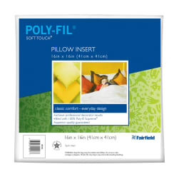 Fairfield Soft Touch Supreme Poly-Fil Pillow 16
