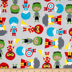 Super Kids Super Boys Green Adventure Fabric