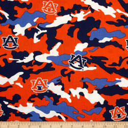 Auburn Cotton Camouflage Fabric