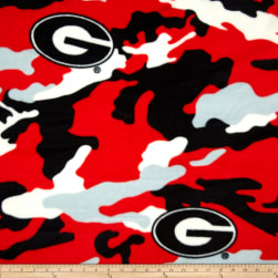 Collegiate Fleece University of Georgia Camo