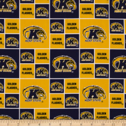 Kent State Flashers Cotton Fabric