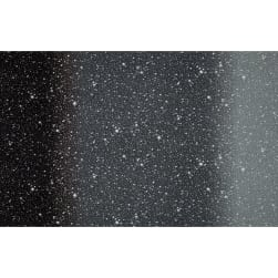 "I Want My Space 57"" Wide Ombre Stars Black"