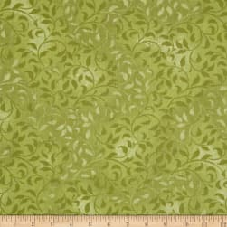 "Climbing Vine 108"" Wide Back Sage Green"