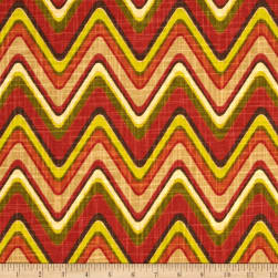 Waverly Sand Art Cayenne Fabric