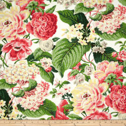 Waverly Floral Flourish Spring Fabric