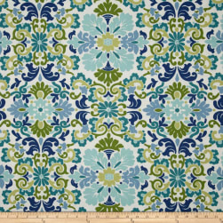Waverly Folk Damask Seaspray Fabric