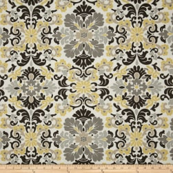 Waverly Folk Damask Lemondrop Fabric