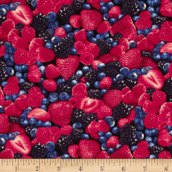 Timeless Treasures Mixed Berries Berry