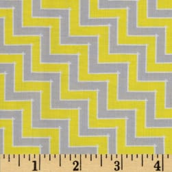 Sweet Harmony Chevron Grey/Yellow
