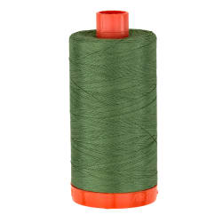 Aurifil Quilting Thread 50wt Dark Grass Green