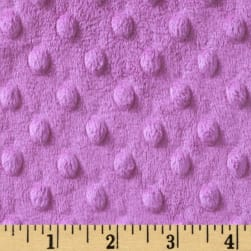 Shannon Minky Cuddle Dimple Mauve Fabric