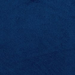 Shannon Minky Solid Cuddle 3 Midnight Blue Fabric