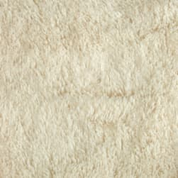 Shannon Minky Shaggy Cuddle Ivory Fabric