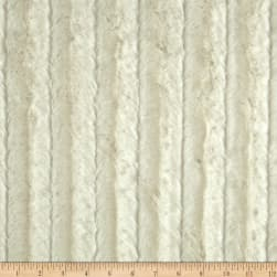 Shannon Minky Luxe Cuddle Chinchilla Ivory Fabric