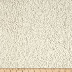 Shannon Minky Sherpa Cuddle Ivory Fabric