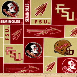 Collegiate Fleece Florida State University Fabric
