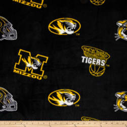 Collegiate Fleece University of Missouri Fabric