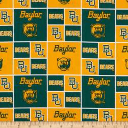 Collegiate Cotton Broadcloth Baylor Fabric