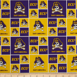 Collegiate Cotton Broadcloth East Carolina Fabric