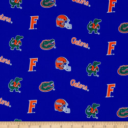 Collegiate Cotton Broadcloth Florida Fabric