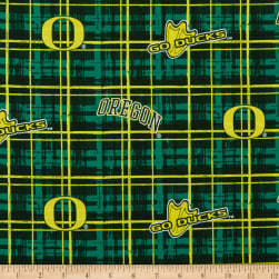 Collegiate Cotton Broadcloth University of Oregon Fabric