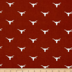 Collegiate Cotton Broadcloth University of Texas Bevo