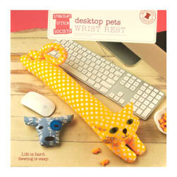 Straight Stitch Society Desktop Pets Wrist Rest Pattern