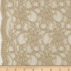 Telio Supreme Lace Tan Fabric
