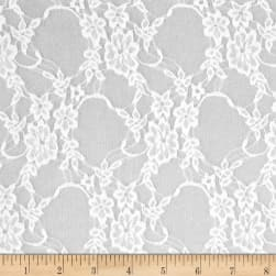Telio Avita Lace White Fabric