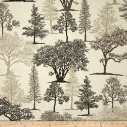 Richloom Treeline Graphite Fabric