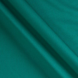 Athletic Mesh Knit Teal Fabric
